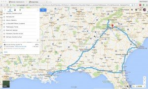 itineraire road trip mai 2015 US